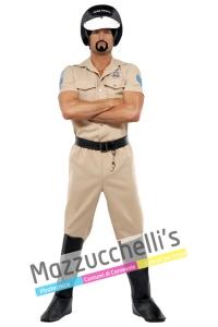 Costume Poliziotto del Gruppo Musicale Village People anni '70 – '80 - Mazzucchellis