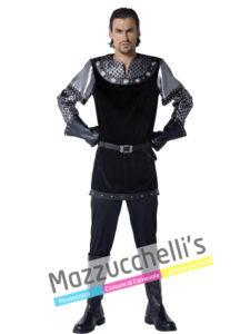 Il costume da Uomo Sceriffo Medievale di cuicompito è catturare i fuorilegge come Robin Hood