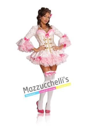 Costume Sexy Dama Rosa - Mazzucchellis