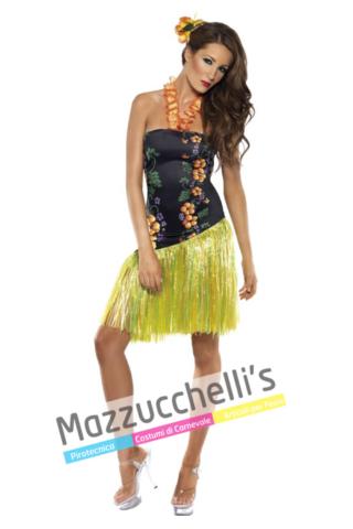 Costume Sexy Hawaiiana mondo - Mazzucchellis