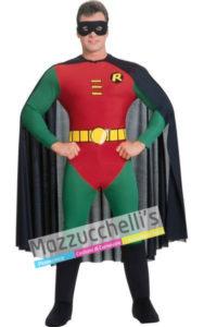 costume Uomo da Supereroe Robin Licenza Ufficiale del film BATMAN