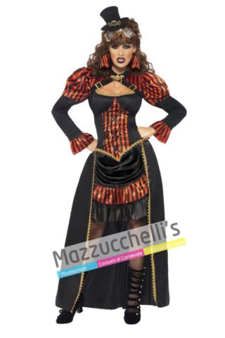 Costume Vampiressa Steampunk -Viaggio nel Tempo - Mazzucchellis
