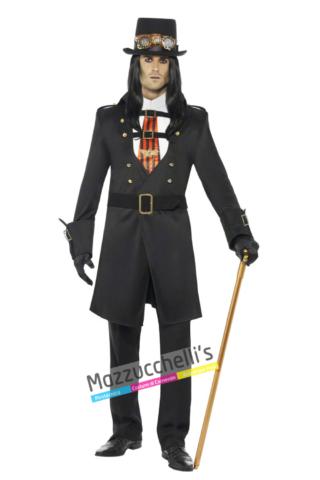Costume Vampiro Steampunk -Viaggio nel Tempo - Mazzucchellis