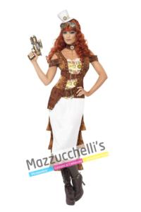 Costume West Steampunk -Viaggio nel Tempo - Mazzucchellis