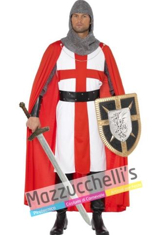 Costume crociato guerriero medievale - Mazzucchellis