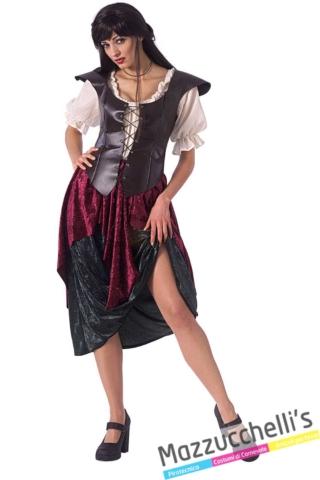 Costume-donna-Cameriera-Medievale-Taverniera---Mazzucchellis