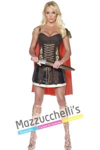 Costume donna sexy gladiatore romana storici - Mazzucchellis
