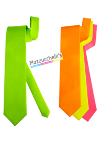 Cravatta Fluorescente colori assortiti eleganti - Mazzucchellis