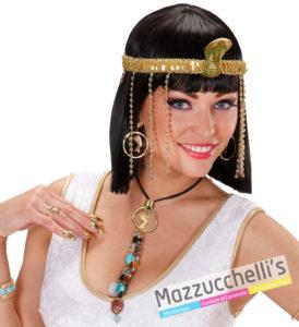 Set Collana E Orecchini Cleopatra Storico