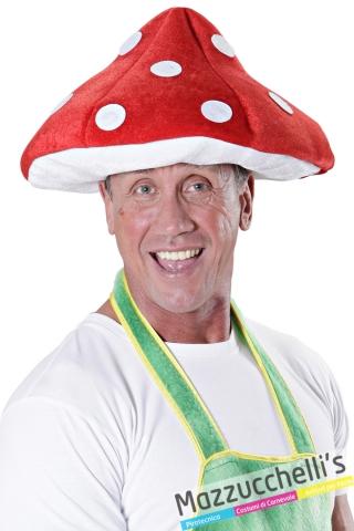 cappello fungo del bosco super mario carnevale halloween altre feste a tema - Mazzucchellis