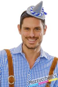 cerchietto mini cappello bavarese oktoberfest - Mazzucchellis