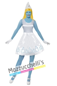 costume cartone puffetta - Mazzucchellis