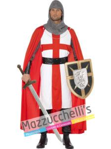 Costume Uomo Crociato Cavaliere Medievale