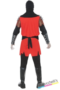costume esecutore gotico horror carnevale halloween o altre feste a tema - Mazzucchellis