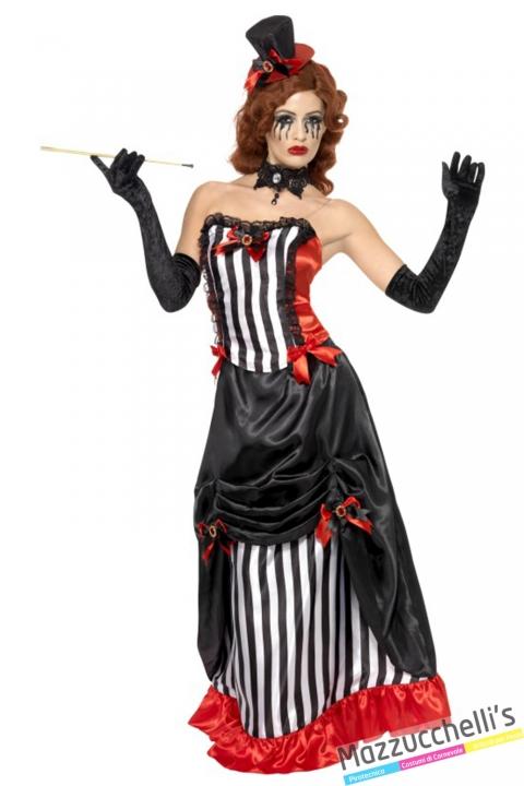 costume madame vamp vampira horror halloween , carnevale o altre feste a tema - Mazzucchellis