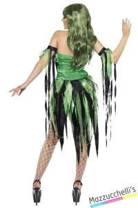 costume sexy strega verde halloween , carnevale o altre feste a tema - Mazzucchellis