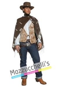 """costume solitario pistolero Western del film """"PER UN PUGNO DI DOLLARI """" interpretato da Clint Eastwood - Mazzucchellis"""
