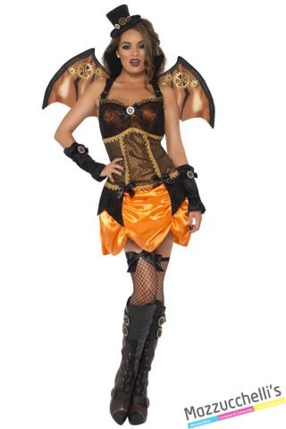 costume steam punk pipistrello halloween , carnevale o altre feste a tema - Mazzucchellis