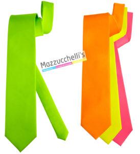cravatta fluorescente Mazzucchelli's