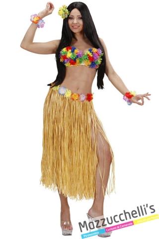 gonna Hawaiana colori assortiti carnevale, addio nubilato - Mazzucchellis