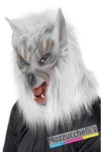 maschera-lupo-horror-halloween---Mazzucchellis