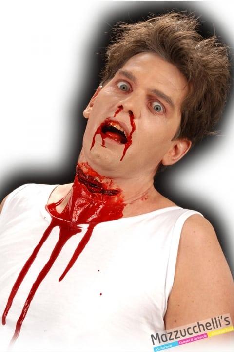 cicatrice posticcio GOLE TAGLIATE horror halloween carnevale altre feste a tema - Mazzucchellis