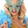 DOMINO FARFALLA GLITTER carnevale halloween altre feste a tema - Mazzucchellis