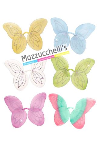 Ali Farfalla Assortiti fata farfalla bambina e adulti - Mazzucchellis