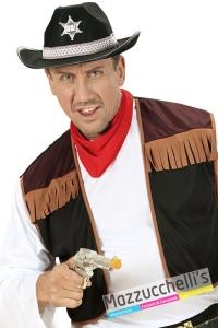 pistola nera o grigia cowboy cowgirl mestieri poliziotti - Mazzucchellis