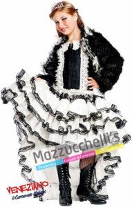 Costume Bambina Carnevale Ballerina Burlesque Lusso