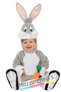 Costume Bambino Bugs Bunny Ufficiale - Mazzucchellis