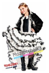 Costume Burlesque bambina - Mazzucchellis