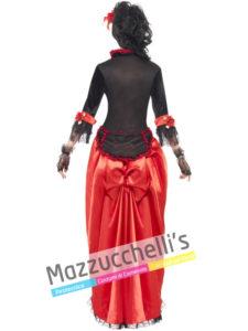 Costume Donna Del Saloon - Western
