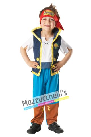 Costume Jack il Pirata – Ufficiale Disney™ - Mazzucchellis