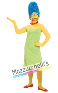 costume da donna Ufficiale da Marge la moglie di Homer del fantastico cartone animato THE SIMPSON
