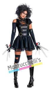 costume donna miss edward mani di forbice originale