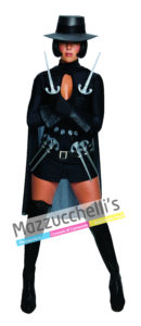 Costume Donna Carnevale Miss V Per Vendetta