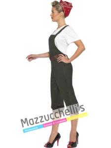 Costume Donna Contadina e pin-up anni 50