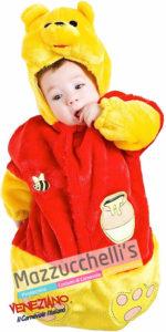 costume sacco per neonato 0-3mesi cartone animato Winnie The Pooh
