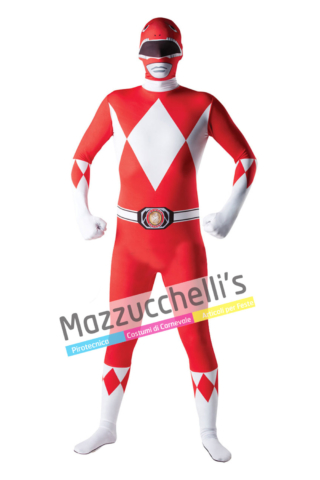 Costume Second Skin Power Rangers – Ufficiale - Mazzucchellis