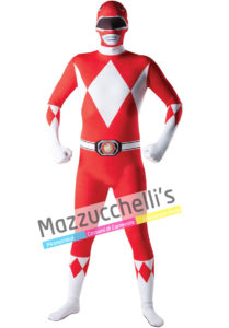 Costume Second Skin Power Rangers - Ufficiale