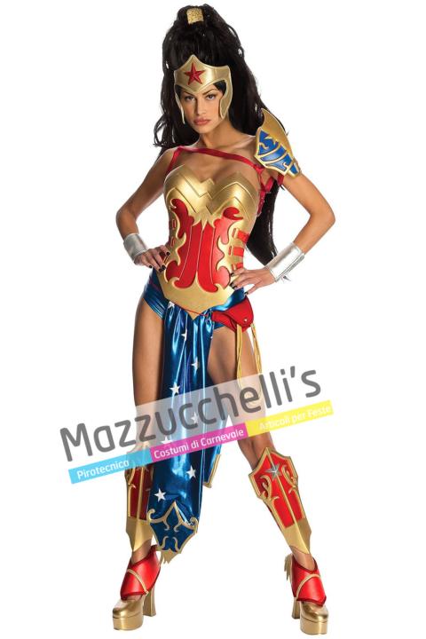 Costume Sexy Wonder Woman – Ufficiale- Mazzucchellis