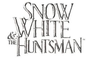 logo costume biancaneve e il cacciatore
