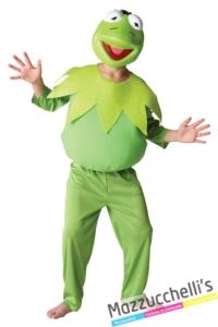 costume-bambino-Rana-Gustavo-personaggio-Famoso-dei-Cartoni-d'animazione-Muppet-Ufficiale-Disney-Mazzucchellis