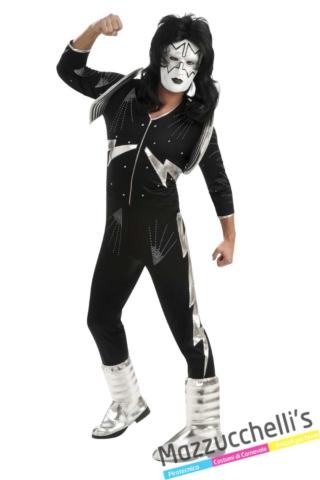 costume-musicista-chitarrista-kiss-spaceman-anni-80-90---Mazzucchellis