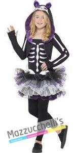 Costume Bambina Scheletro Halloween