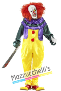 Costume Clown Horror - Mazzucchellis