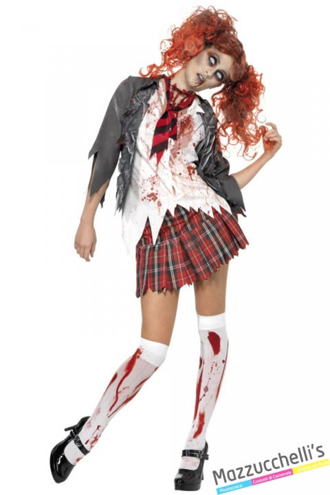 costume hight school zombie halloween , carnevale o altre feste a tema - Mazzucchellis