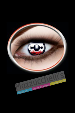 LENTI a contatto saw 12 MESI carnevale halloween e altre feste a tema - Mazzucchellis