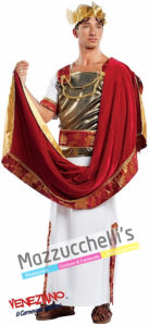 Costume uomo imperatore romano Cesare